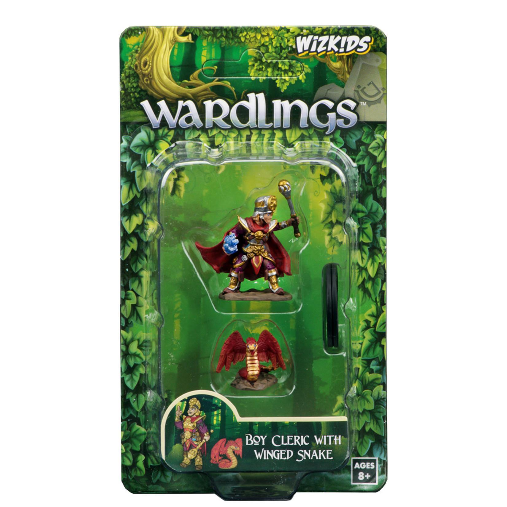 WizKids WizKids Wardlings: Boy Cleric & Winged Snake (W1)