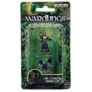 WizKids WizKids Wardlings: Girl Cleric & Winged Cat (W2)