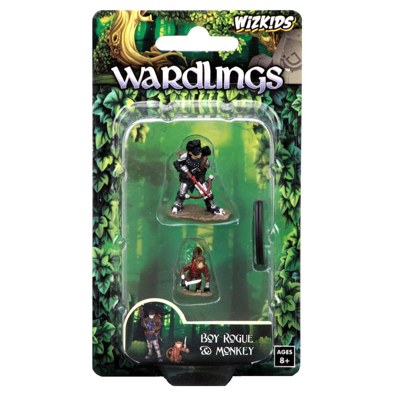 WizKids WizKids Wardlings: Boy Rogue & Monkey (W2)