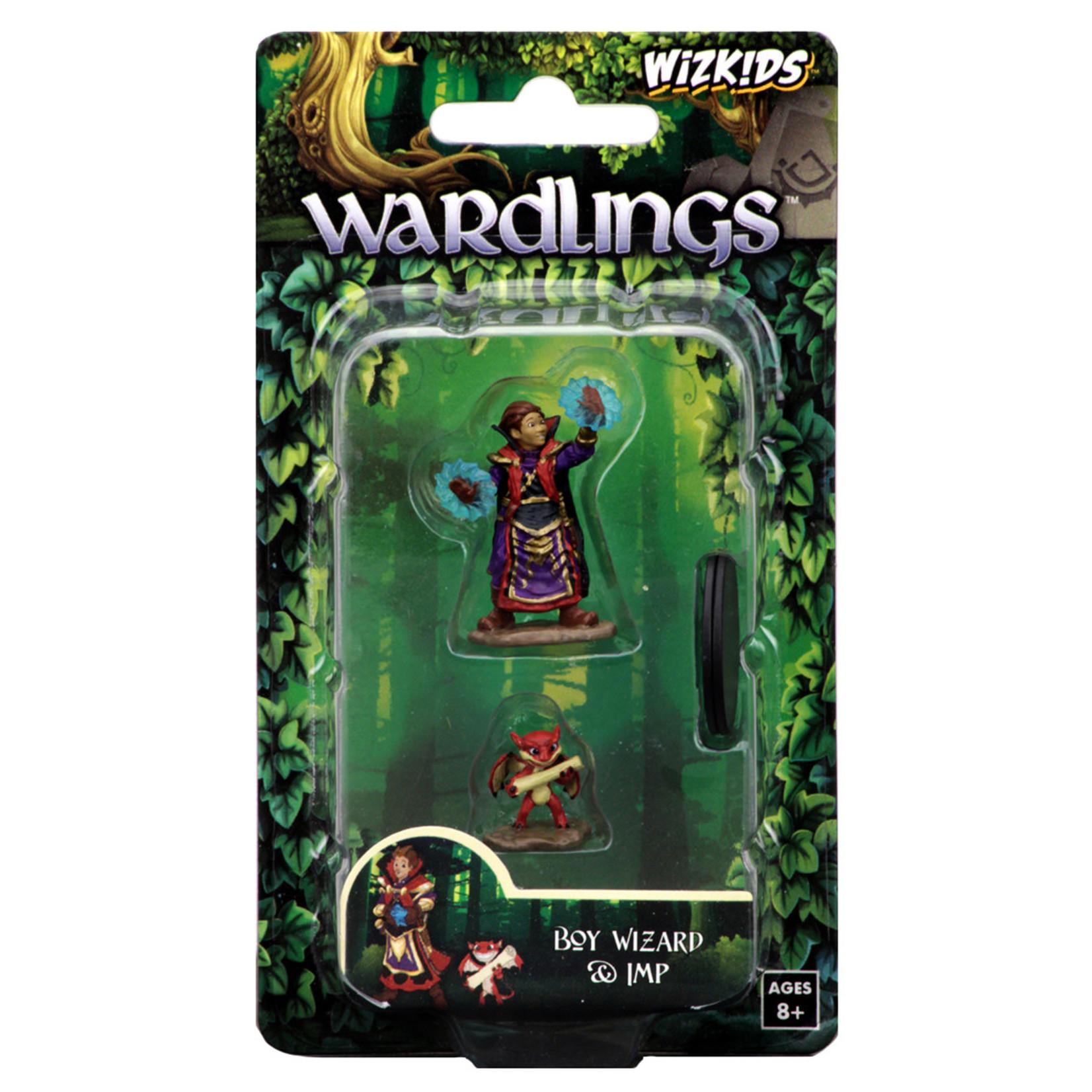 WizKids WizKids Wardlings: Boy Wizard & Imp (W2)