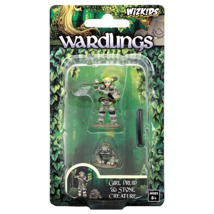 WizKids WizKids Wardlings: Girl Druid & Stone Creature (W2)