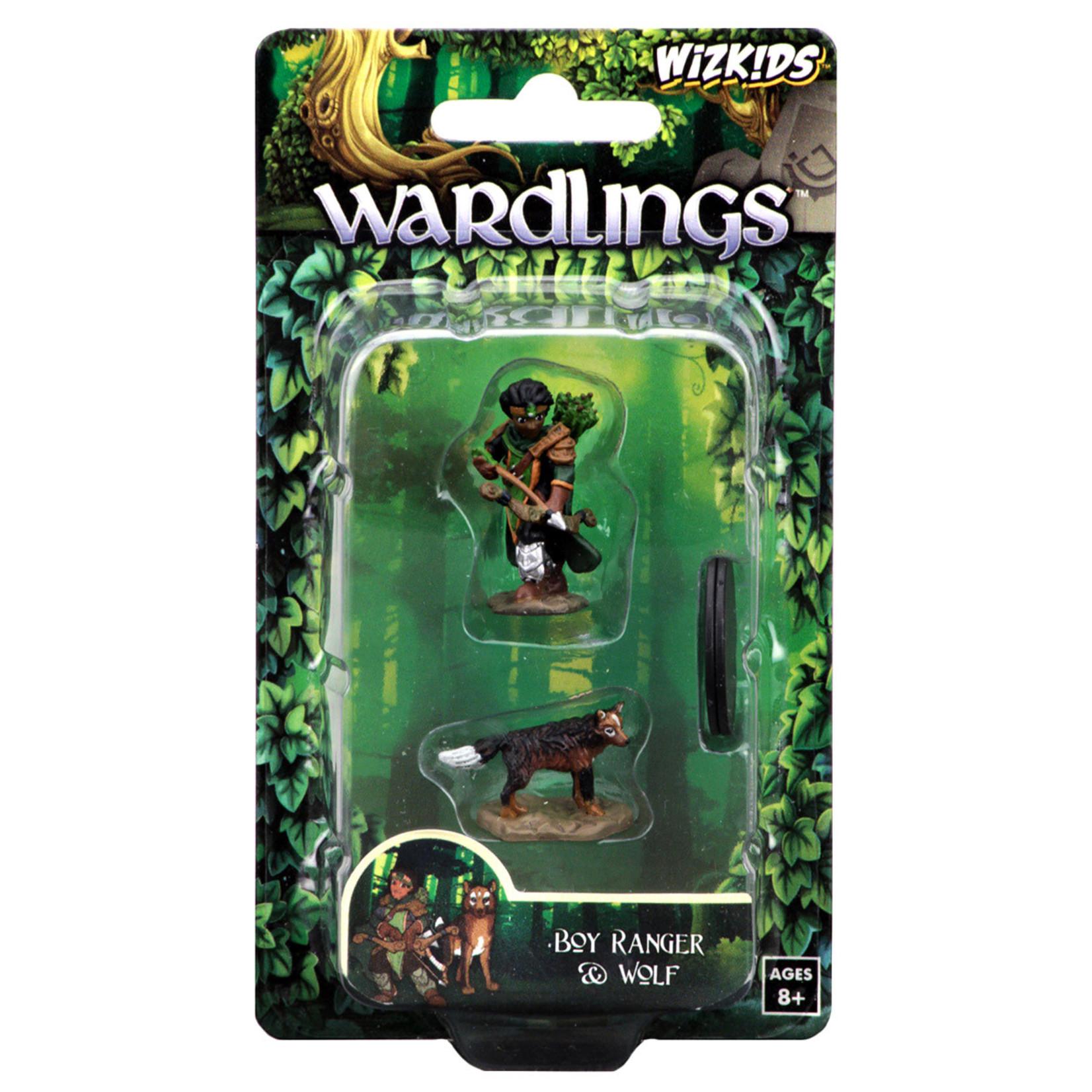 WizKids WizKids Wardlings: Boy Ranger & Wolf (W2)