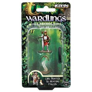WizKids WizKids Wardlings: Girl Fighter & Hunting Falcon (W2)