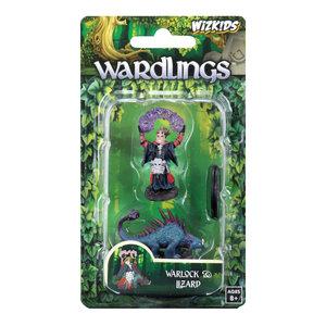 WizKids WizKids Wardlings: Boy Warlock & Lizard (W3)