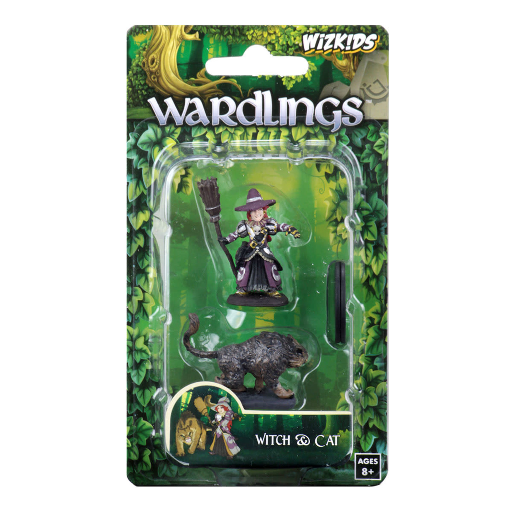 WizKids WizKids Wardlings: Girl Witch & Witch's Cat (W3)