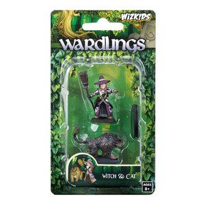 WizKids WizKids Wardlings: Girl Witch & Witch's Cat (W3)