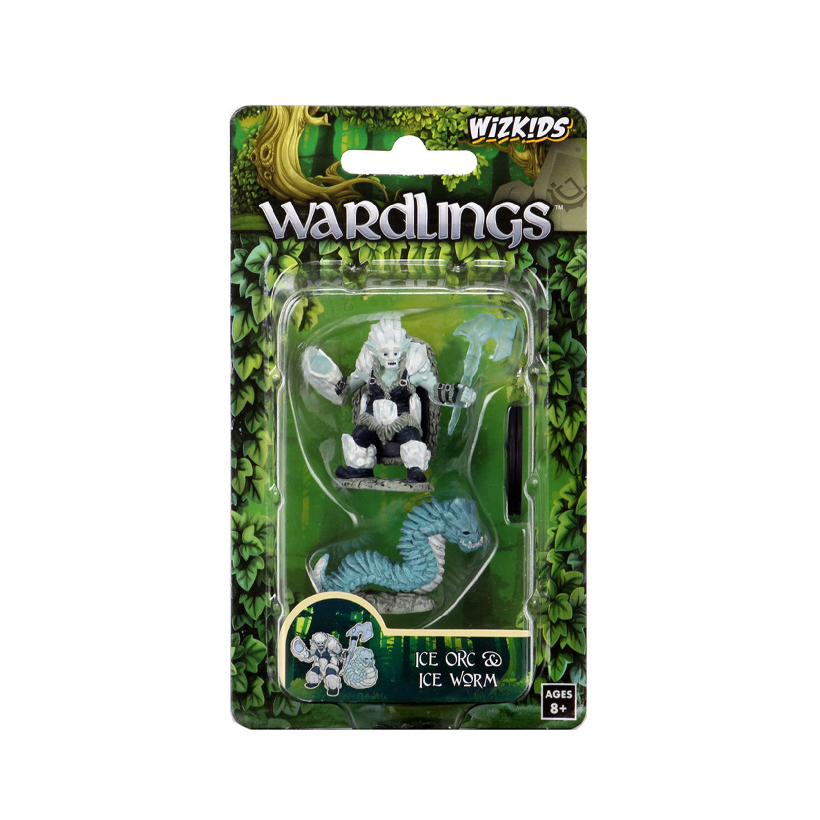 WizKids WizKids Wardlings: Ice Orc & Ice Worm (W4)