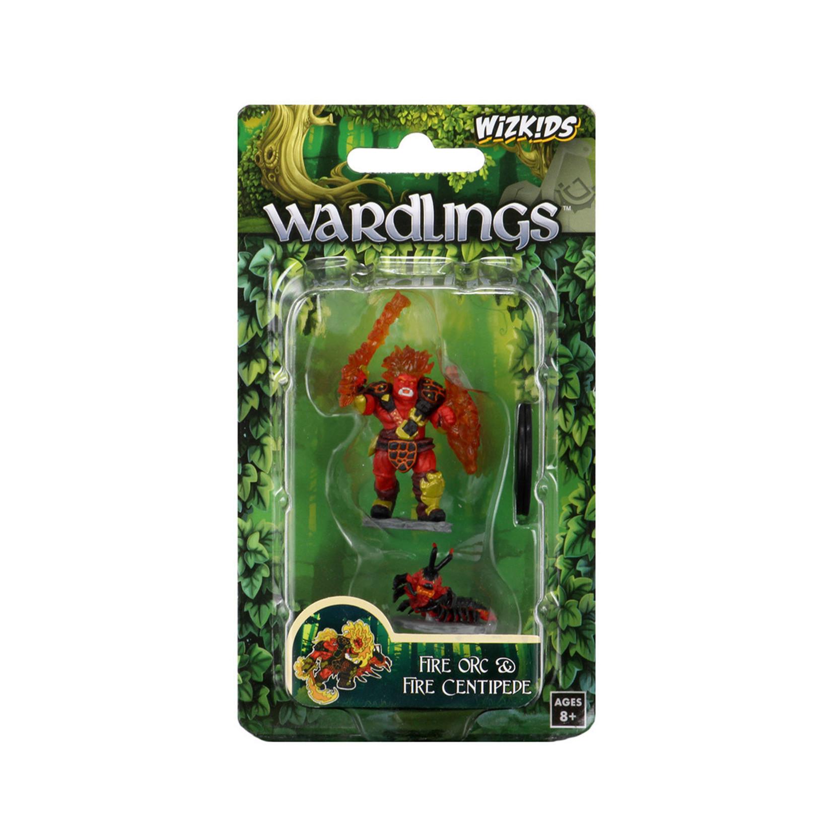 WizKids WizKids Wardlings: Fire Orc & Fire Centipede (W4)