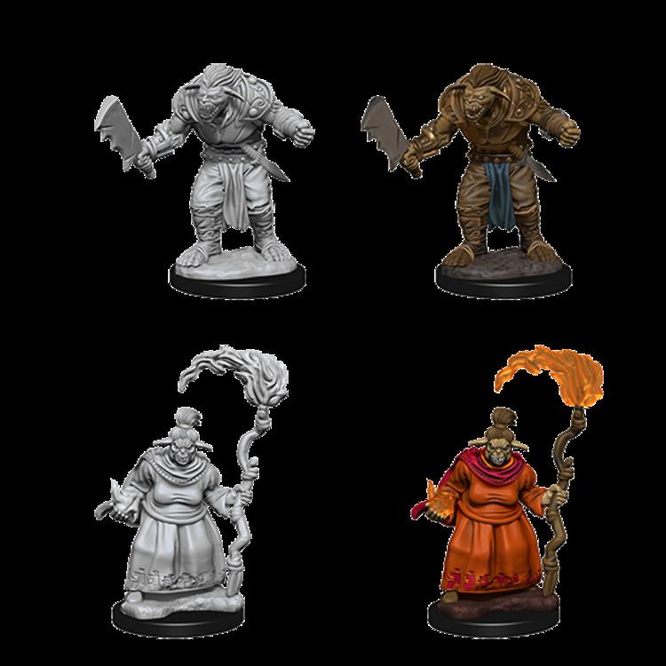 WizKids Pathfinder Deep Cuts Unpainted Miniatures: Bugbears (W2)
