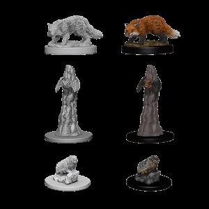 WizKids Pathfinder Deep Cuts Unpainted Miniatures: Familiars (W1)