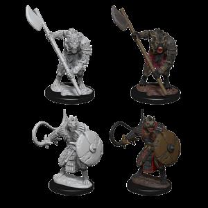 WizKids Pathfinder Deep Cuts Unpainted Miniatures: Gnolls (W3)