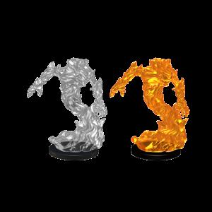 WizKids Pathfinder Battles Deep Cuts Unpainted Miniatures: Medium Fire Elemental (W5)