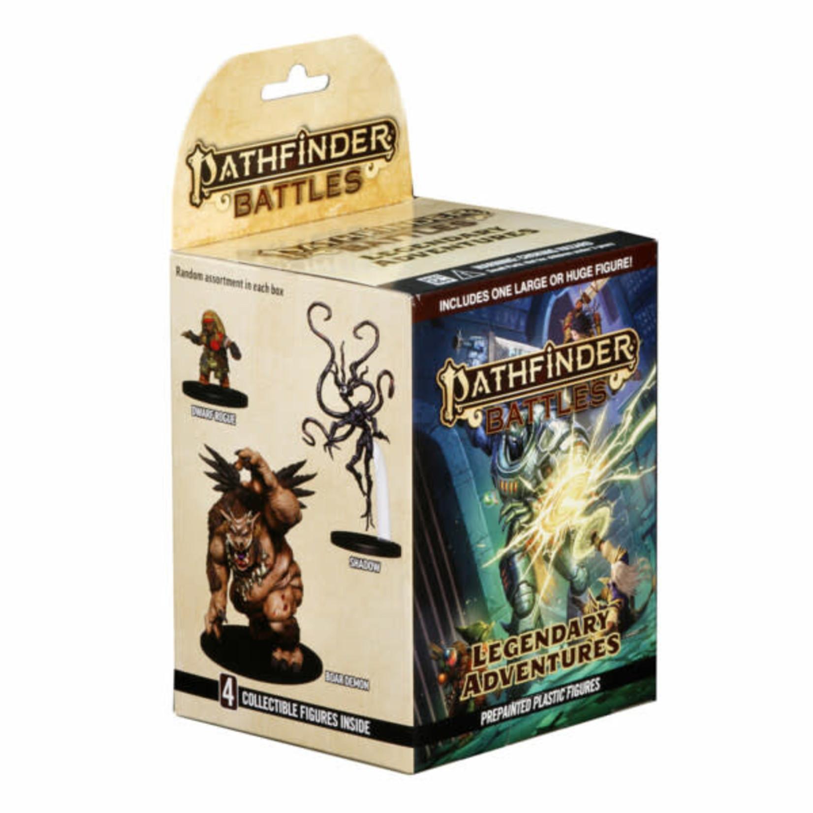 WizKids Pathfinder Battles Prepainted Miniatures: Legendary Adventures Booster Pack