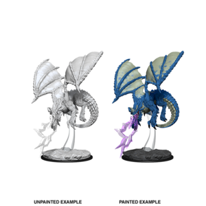 WizKids D&D Nolzur's Marvelous Miniatures: Young Blue Dragon (W8)