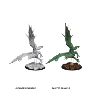WizKids D&D Nolzur's Marvelous Miniatures: Young Green Dragon (W8)