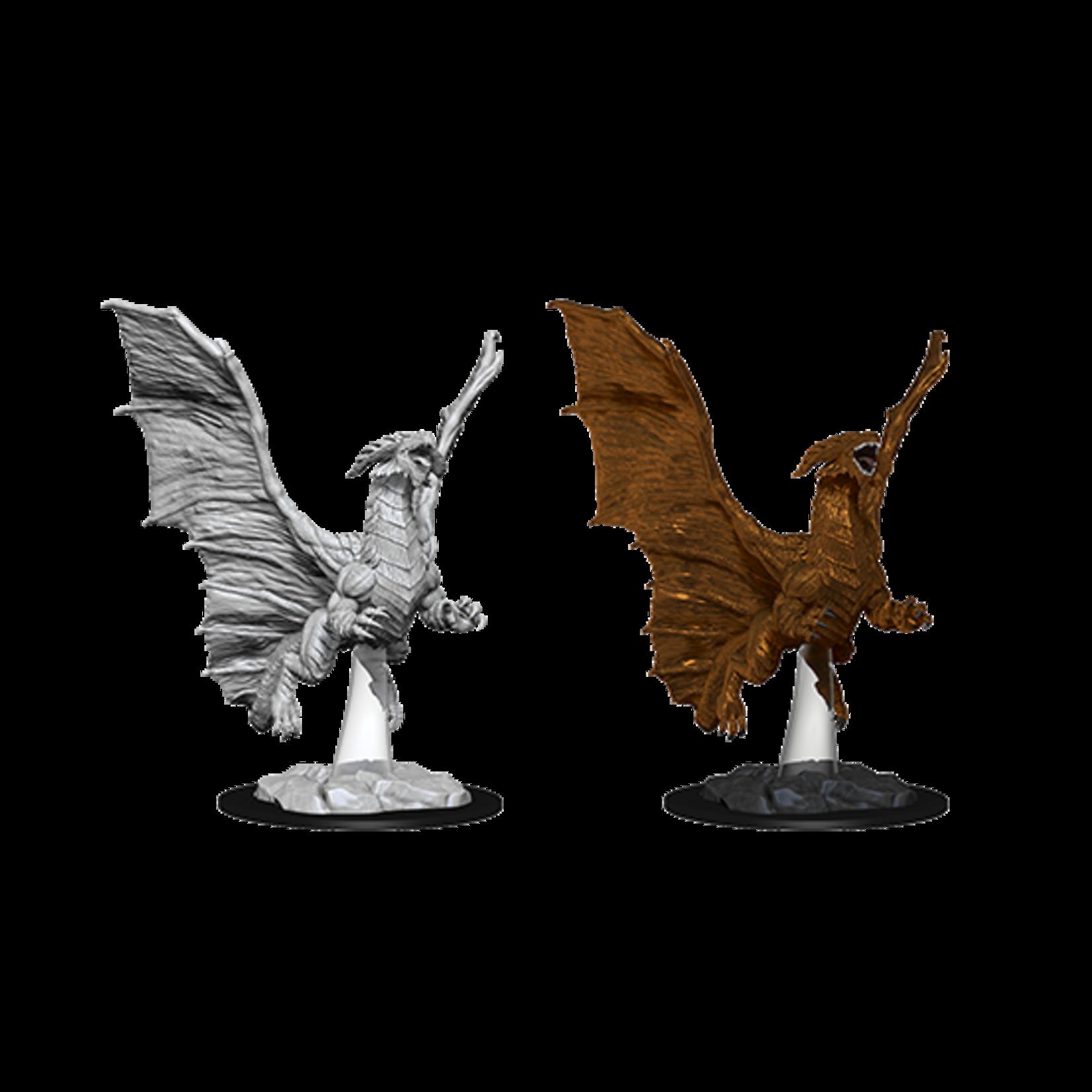 WizKids D&D Nolzur's Marvelous Miniatures: Young Copper Dragon (W8)