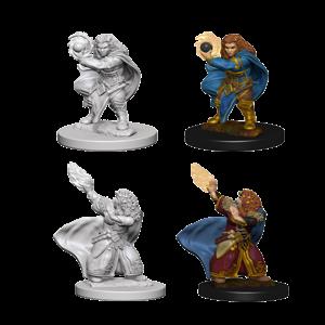 WizKids D&D Nolzur's Marvelous Miniatures: Dwarf Female Wizard (W4)