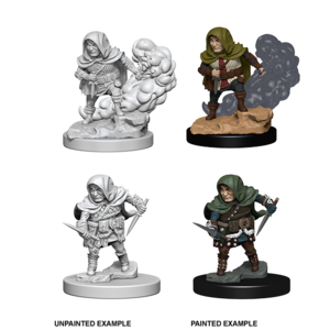 WizKids D&D Nolzur's Marvelous Miniatures: Halfling Male Rogue (W1)
