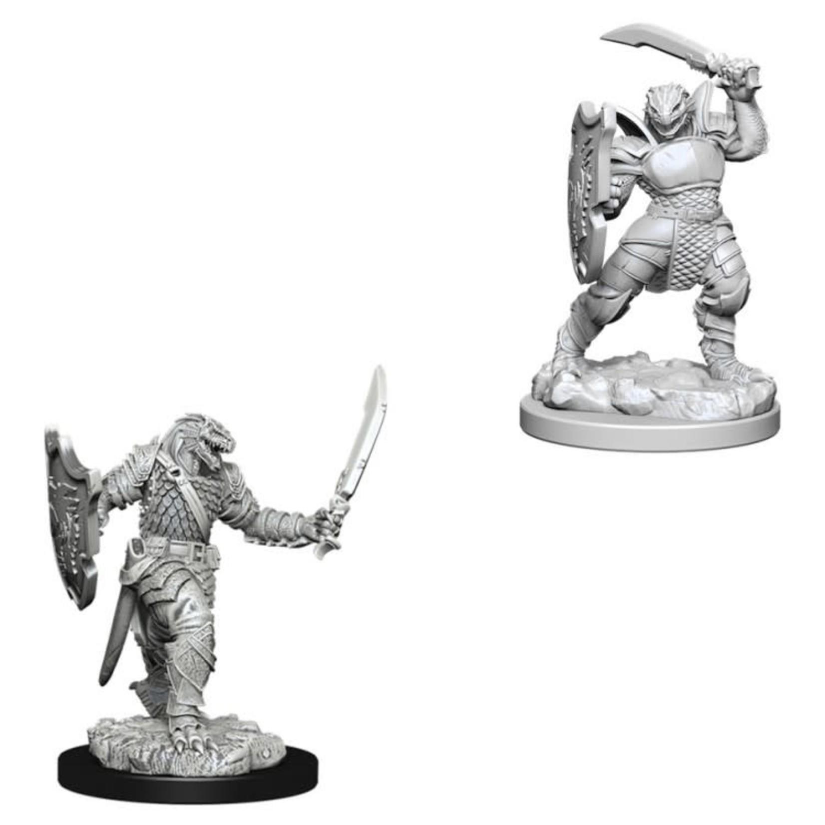 WizKids D&D Nolzur's Marvelous Miniatures: Dragonborn Paladin with Sword & Shield (W5)