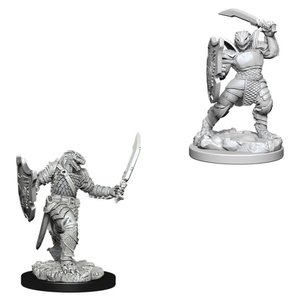 WizKids D&D Nolzur's Marvelous Miniatures: Dragonborn Paladin with Sword & Shield (W5)