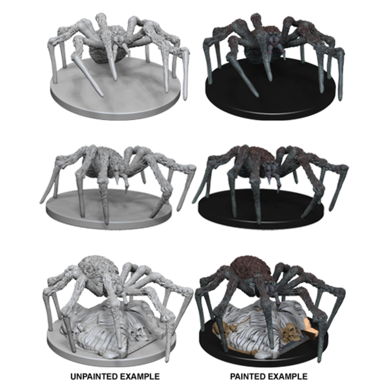 WizKids D&D Nolzur's Marvelous Miniatures: Spiders (W1)