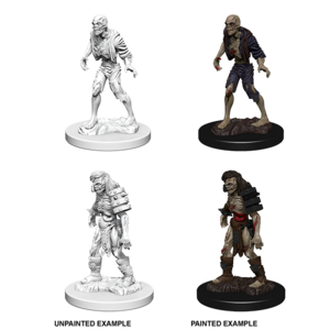 WizKids Dungeons & Dragons Nolzur`s Marvelous Unpainted Miniatures: W1 Zombies