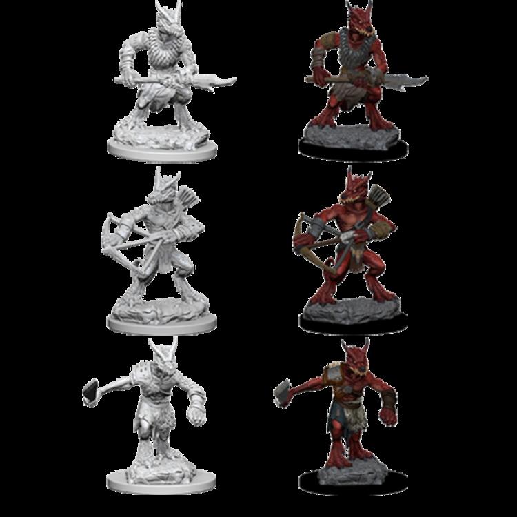 WizKids Dungeons & Dragons Nolzur's Marvelous Unpainted Miniatures: W1 Kobolds