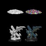 WizKids D&D Nolzur's Marvelous Miniatures: Blue Dragon Wyrmling (W10)
