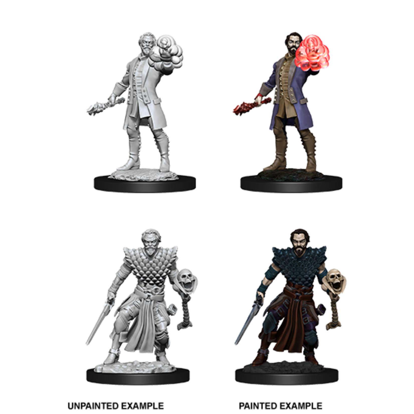 WizKids D&D Nolzur's Marvelous Miniatures: Male Human Warlock  (W10)