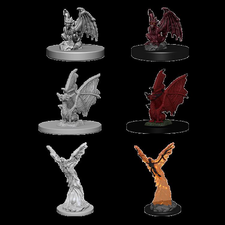 WizKids Dungeons & Dragons Nolzur's Marvelous Unpainted Miniatures: W1 Familiars