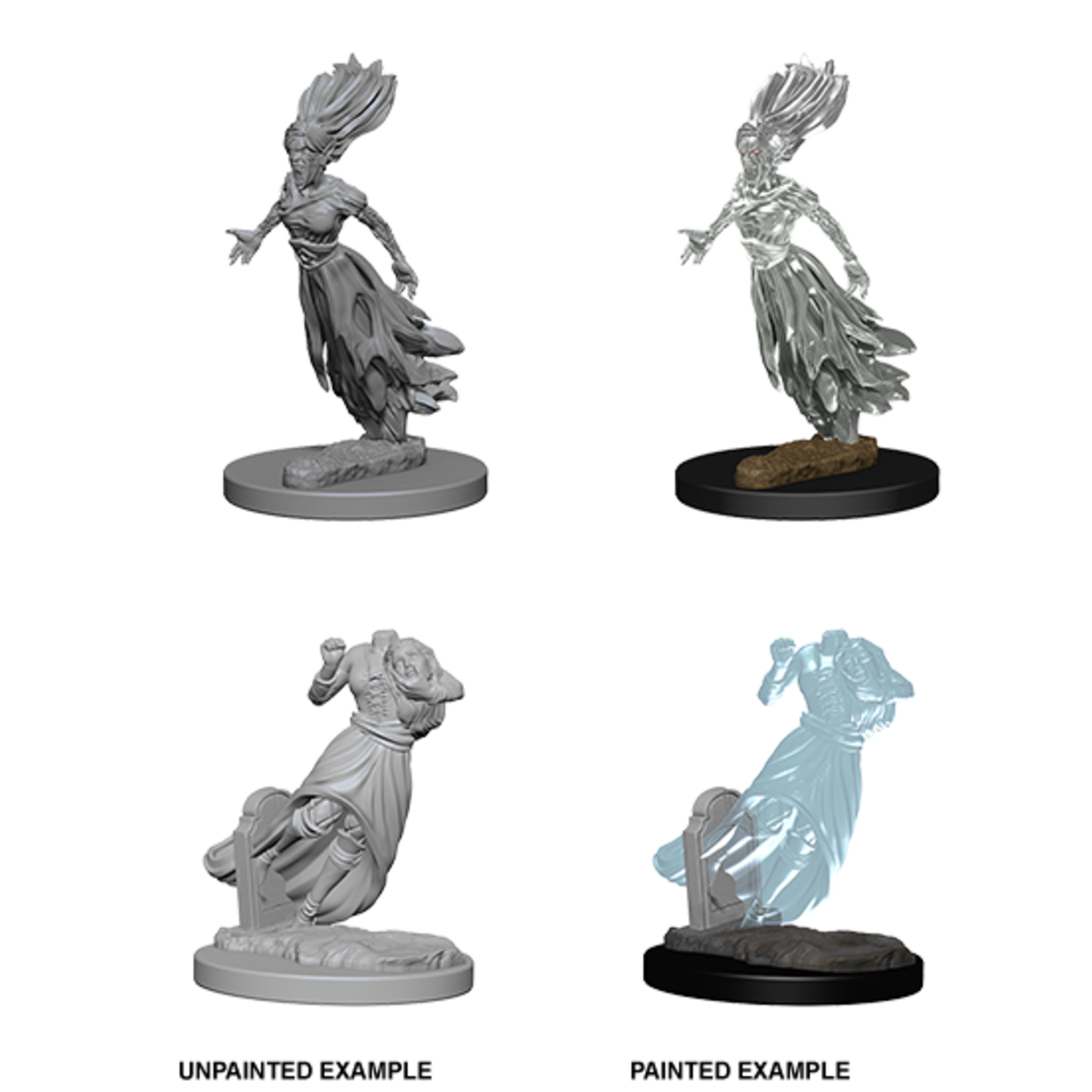 WizKids Dungeons & Dragons Nolzur`s Marvelous Unpainted Miniatures: W1 Ghosts