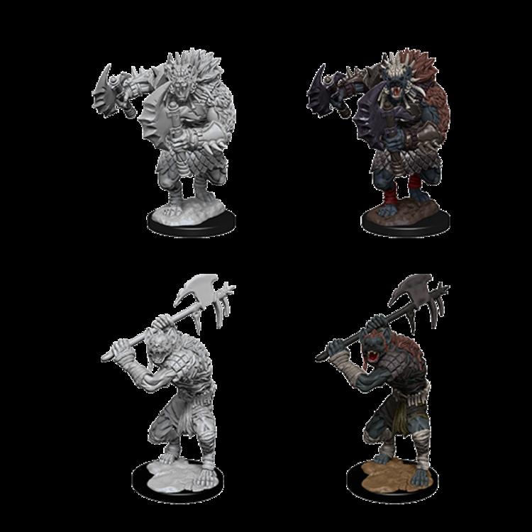 WizKids D&D Nolzur's Marvelous Miniatures: Gnolls (W1)