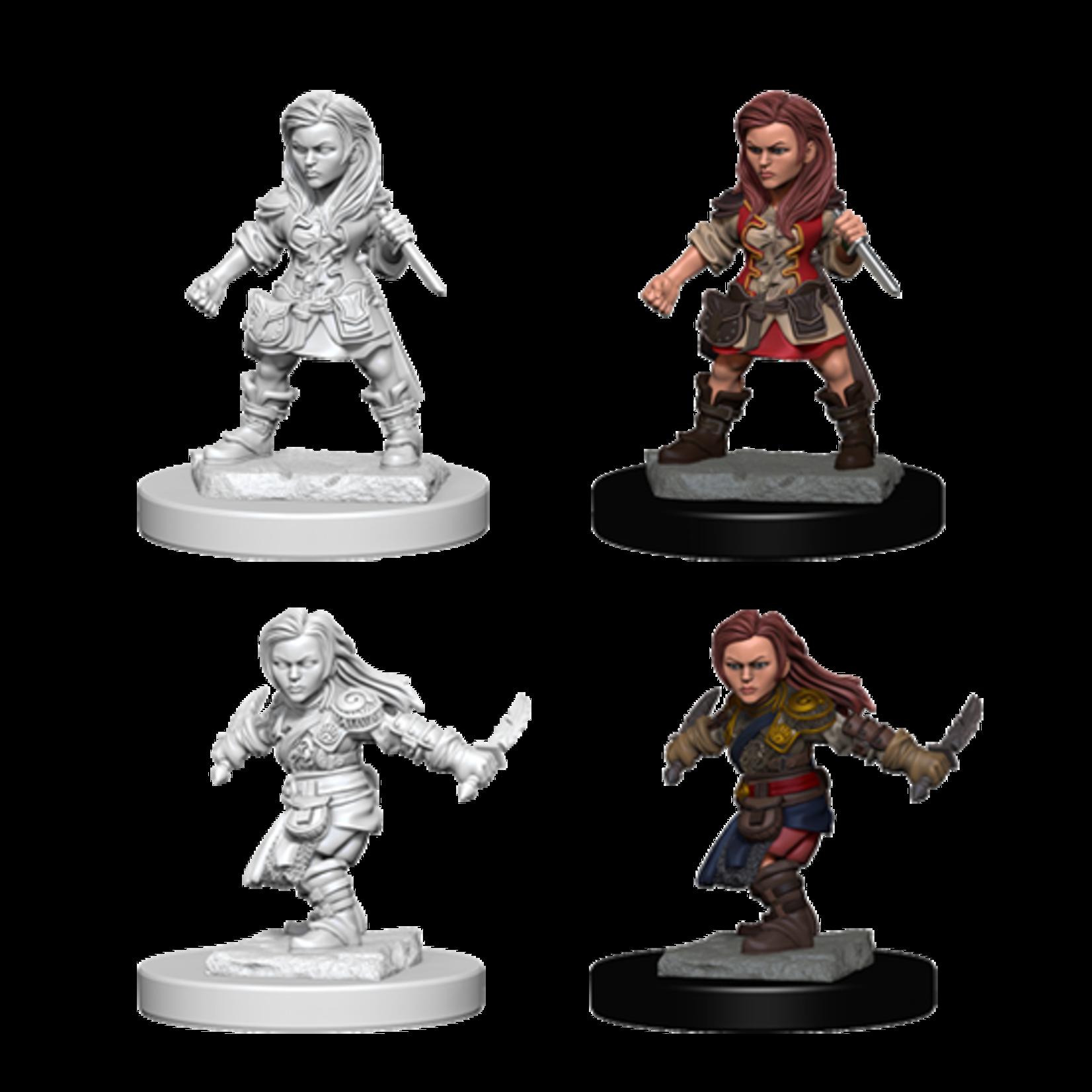 WizKids D&D Nolzur's Marvelous Miniatures: Halfling Female Rogue (W1)