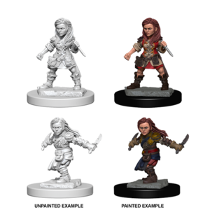 WizKids D&D Nolzur's Marvelous Miniatures: Halfling Female Rogue (W1)