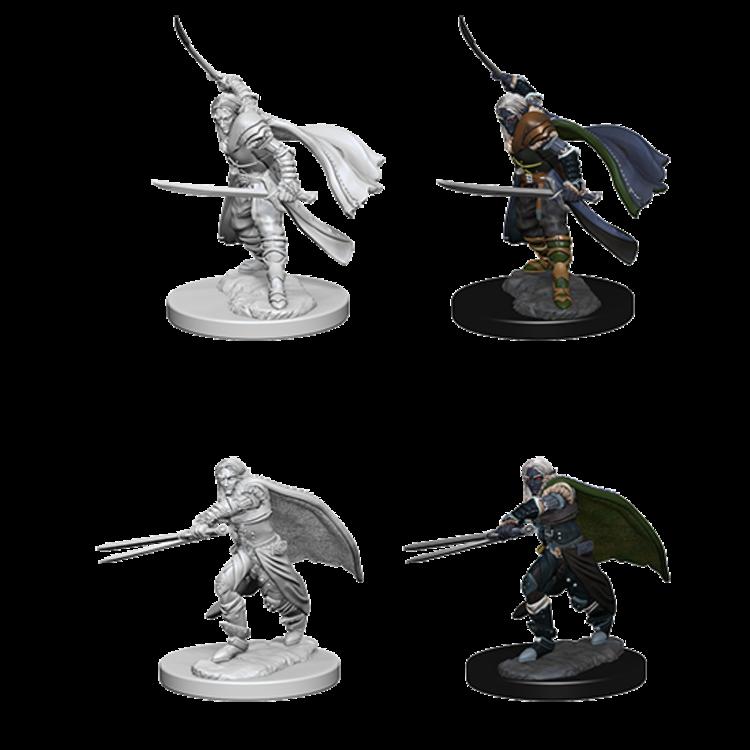WizKids D&D Nolzur's Marvelous Miniatures: Elf Male Ranger (W1)