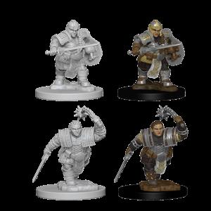 WizKids D&D Nolzur's Marvelous Miniatures: Dwarf Female Fighter (W2)