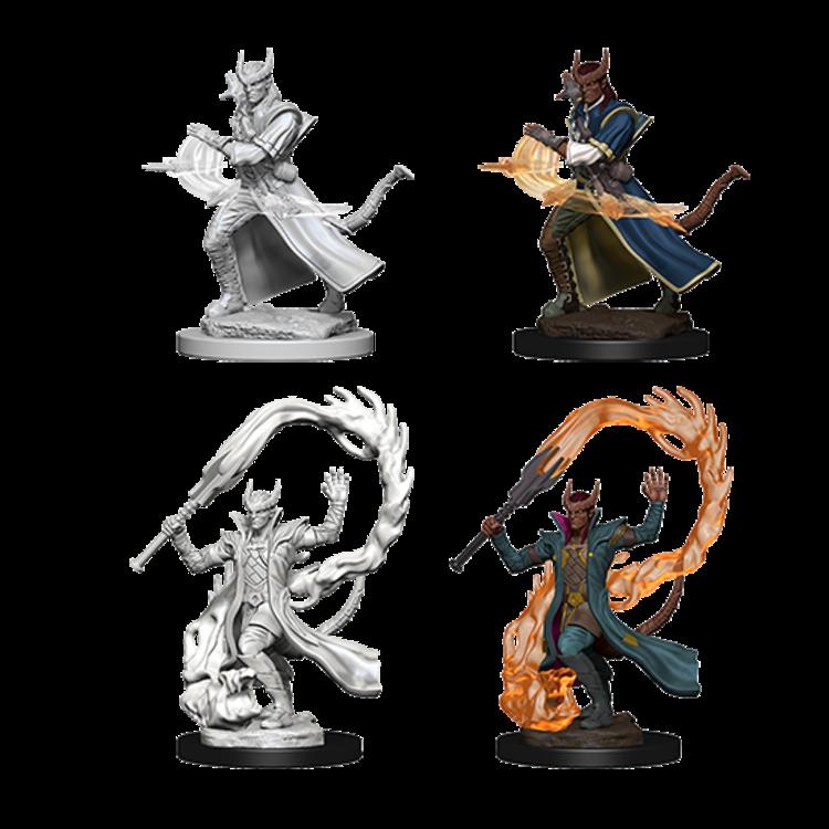 WizKids D&D Nolzur's Marvelous Miniatures: Tiefling Male Sorcerer (W4)