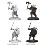 WizKids D&D Nolzur's Marvelous Miniatures: Earth Genasi Male Fighter (W4)