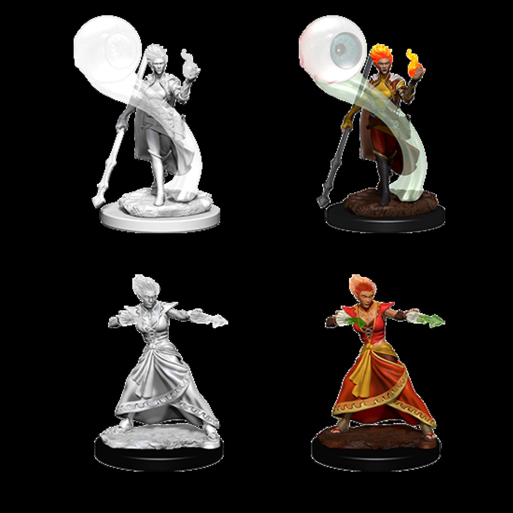 WizKids D&D Nolzur's Marvelous Miniatures: Fire Genasi Female Wizard (W5)