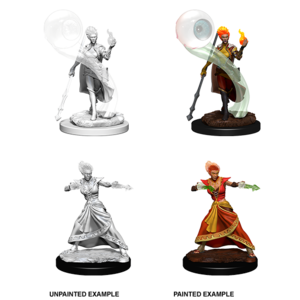 WizKids D&D Nolzur's Marvelous Miniatures: Fire Genasi Female Wizard (W5)