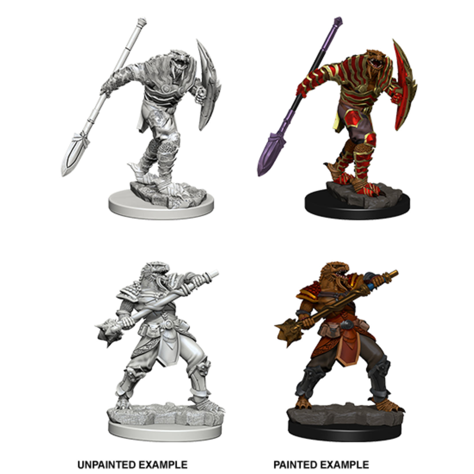 WizKids D&D Nolzur's Marvelous Miniatures: Dragonborn Fighter with Spear (W5)