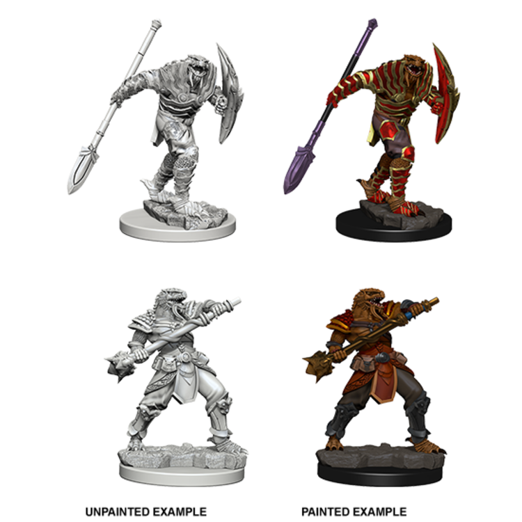 WizKids D&D Nolzur's Marvelous Miniatures: Dragonborn Fighter with Spear (W5)