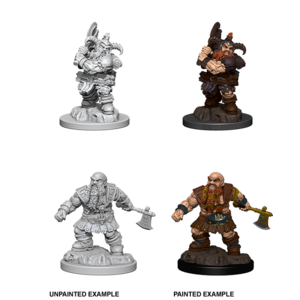WizKids D&D Nolzur's Marvelous Miniatures: Dwarf Male Barbarian (W6)