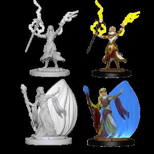 WizKids D&D Nolzur's Marvelous Miniatures: Elf Female Wizard (W3)