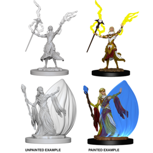 WizKids Dungeons & Dragons Nolzur's Marvelous Unpainted Miniatures: W3 Elf Female Wizard