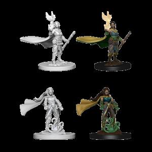 WizKids Dungeons & Dragons Nolzur's Marvelous Unpainted Miniatures: W4 Elf Female Druid