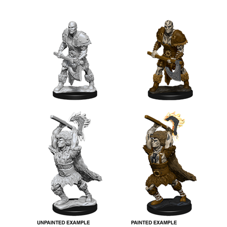 WizKids D&D Nolzur's Marvelous Miniatures: Male Goliath Barbarian (W10)