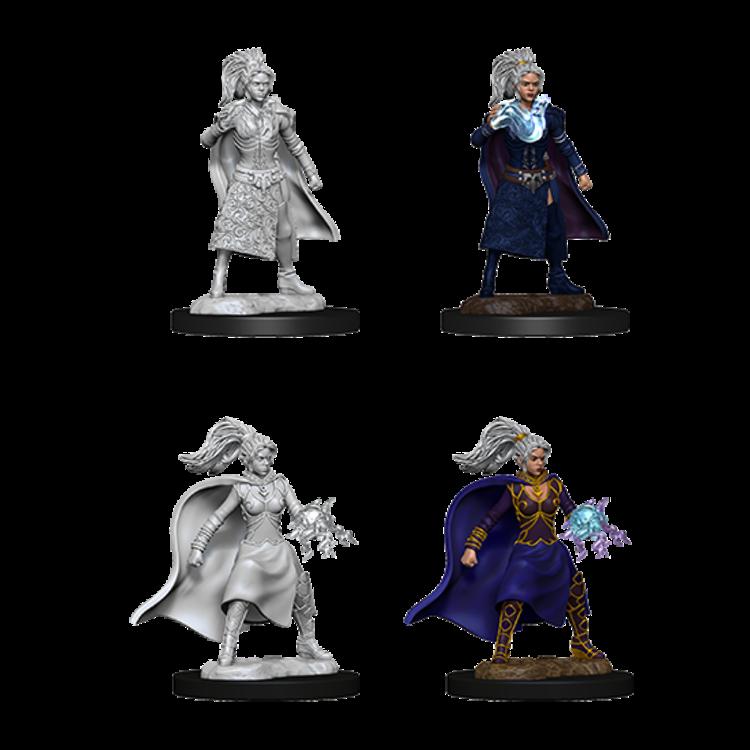 WizKids D&D Nolzur's Marvelous Miniatures: Female Human Sorcerer (W10)