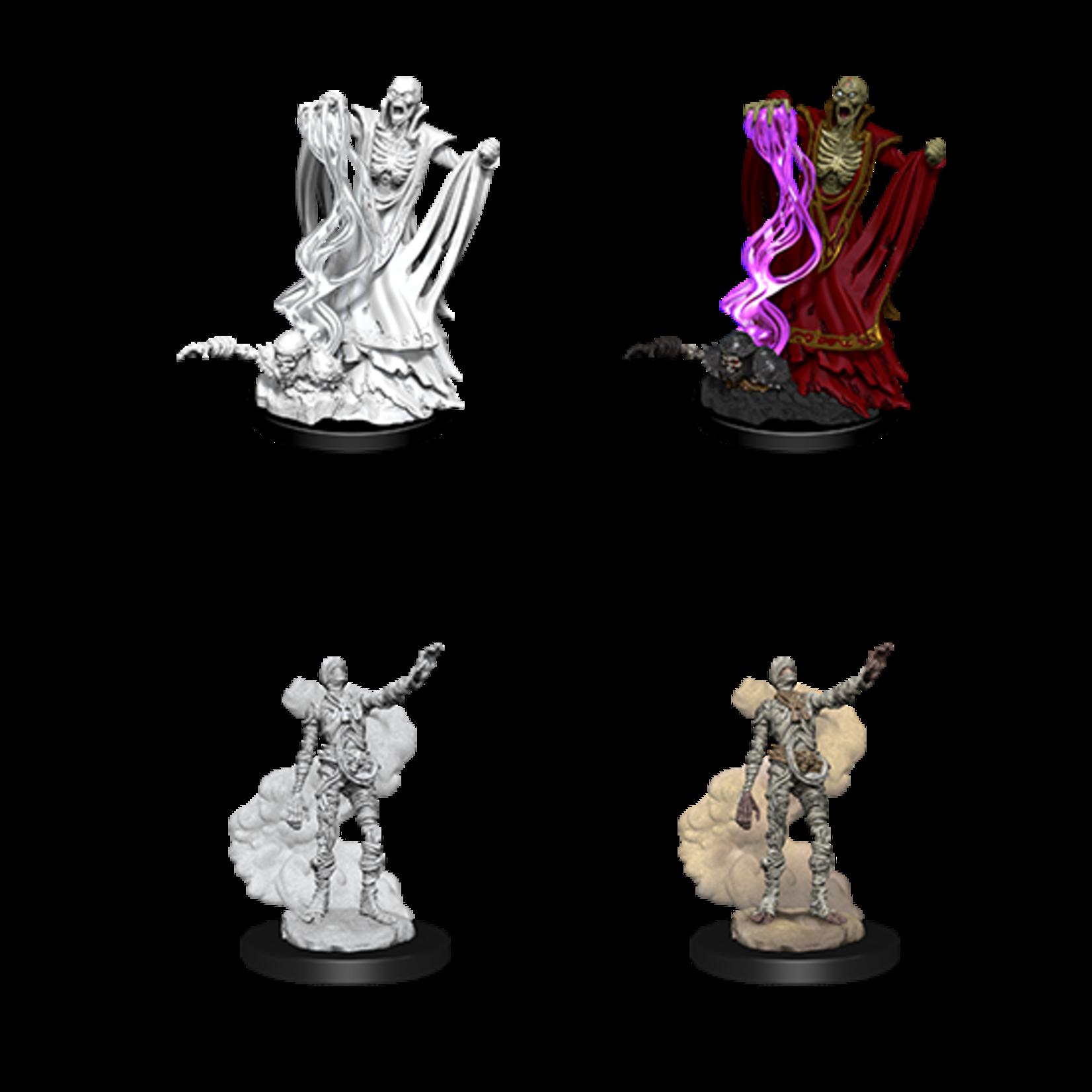 WizKids D&D Nolzur's Marvelous Miniatures: Lich & Mummy Lord (W11)