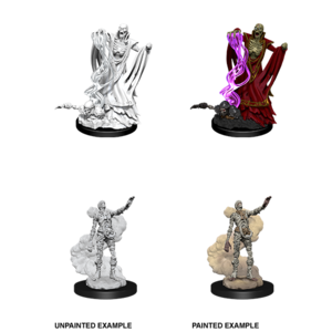 WizKids D&D Nolzur's Marvelous Miniatures: Lich & Mummy Lord (W11)
